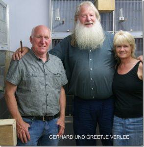 Gerhard en Greetje Verlege